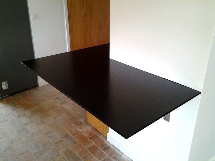 Installer un tiroir sous une console tiroir suspendu - Installer un plan de travail cuisine ...