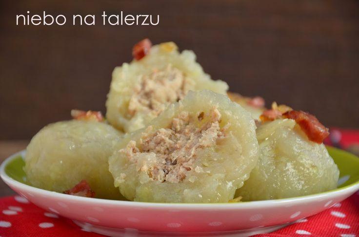 Pyzy z mięsem, w zależności od regionu Polski mają rozmaite nazwy. W rejonie Podlasia nazywają się kartacze i tam smakują mi najbardziej na ...