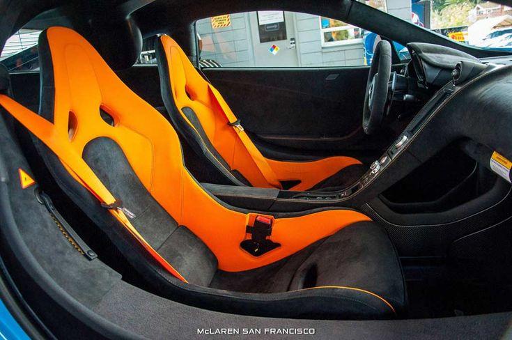 Mexico Blue McLaren 675LT mit MSO Dach Schnorchel   Автомобили
