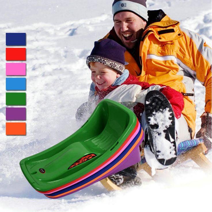 新しい到着大人子供そり冬の雪スポーツ砂草スライディングトボガンキャップダウンヒルそり雪そり子
