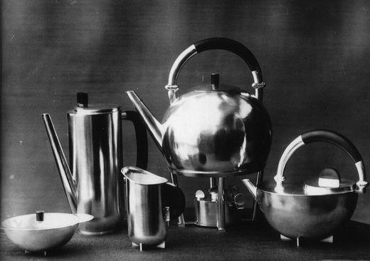 Bauhaus Marianne Brandt metalwork