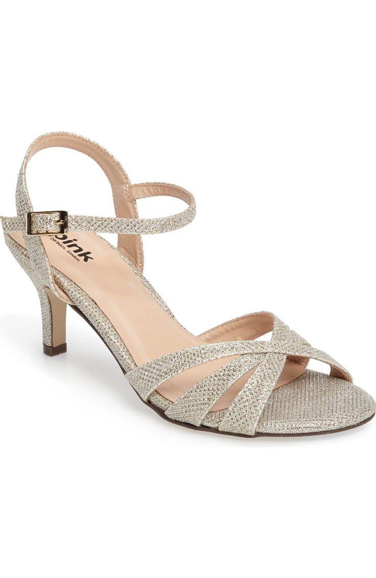 Main Image - pink paradox london Shelby Glitter Sandal (Women)