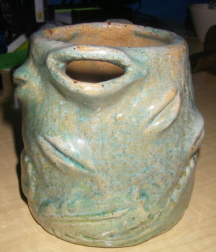 Front view of Banksia Man Jug Nell Holden