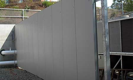 Architectural Environmental Noise Barrier Systems