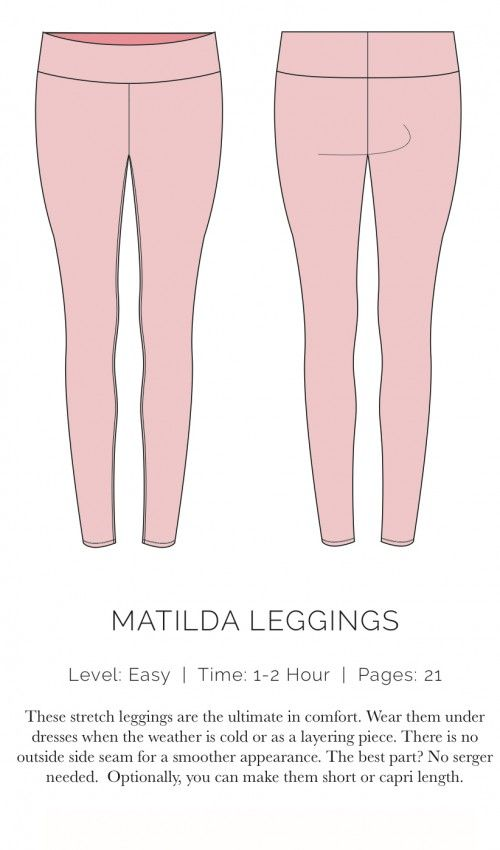 Leggings and other FREE women's patterns at Spit Up & Stilettos