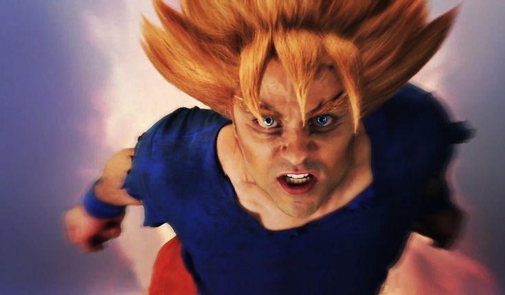 Real Life Goku Wallpaper (ERB Goku vs Superman) by Fonzzz002 on ...