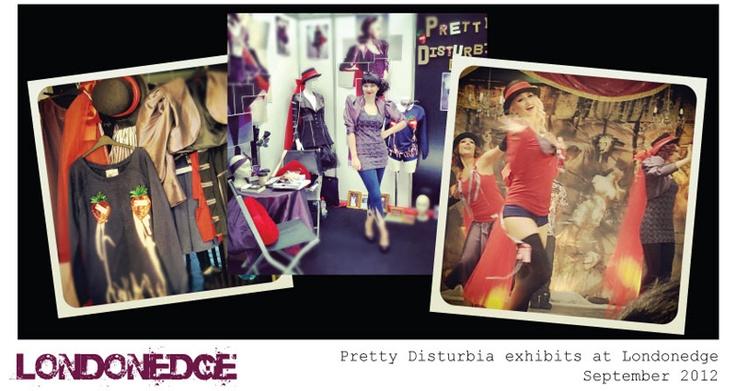 Pretty Disturbia | designer clothing for women | press and gallery LONDONEDGE FASHION SHOW ALTERNATIVE CLOTHING