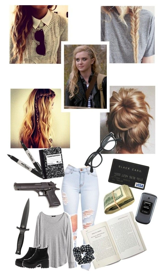 """Claire Novak"" by lydiamartinisbetterthanyou ❤ liked on Polyvore featuring H&M, Samsung, Sharpie, J.Crew, Topshop, supernatural and ClaireNovak"