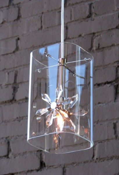 Petit Flower Glass Hanging Pendant Light | Scenario Home