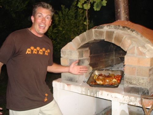 Plans for Making a Wood Burning Pizza Oven
