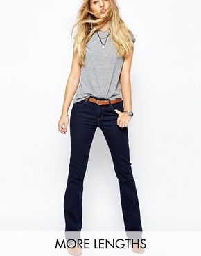 Levis 715 Mid Rise Bootcut Jean