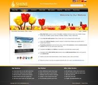 Shine-Orange Skin // SEO Menu // W3C Xhtml