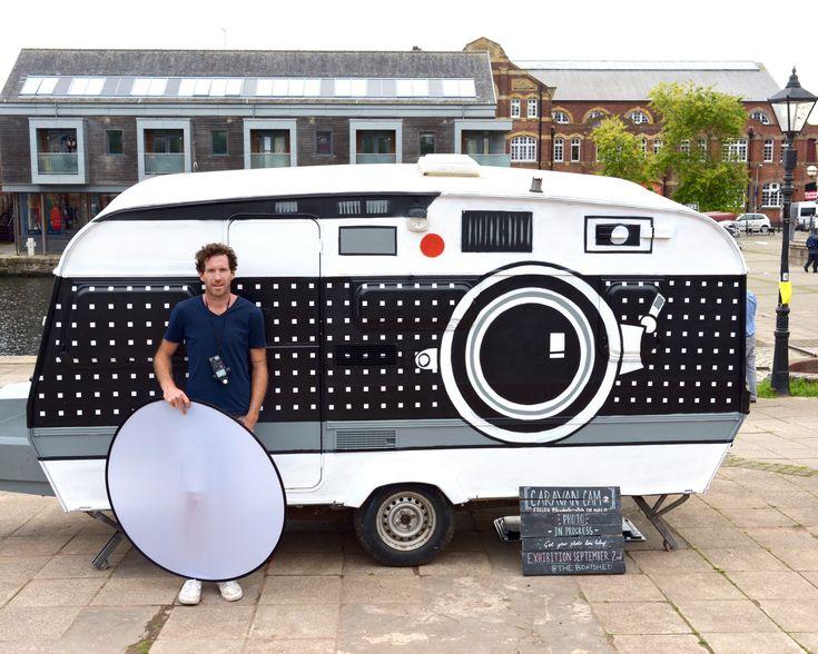 Brendan Barry verwandelt Wohnwagen in #Kamera – #art deli #fotografie