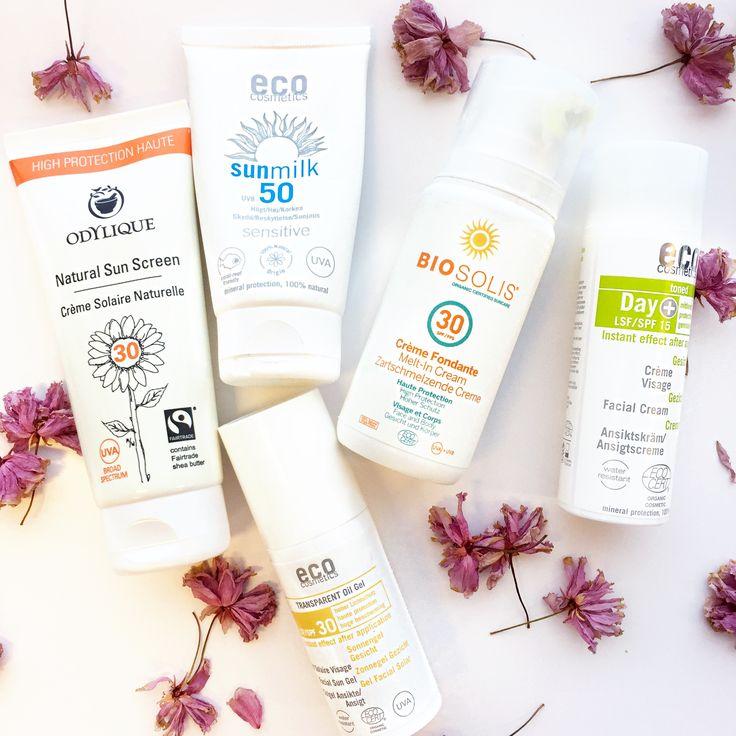 5 bästa ekologiska solkrämer till ansiktet. Vad som skiljer dem åt och vilken som passar din hudtyp.
