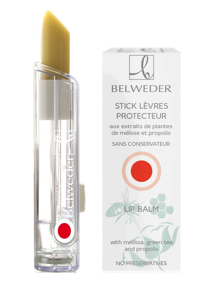 Lip bal with melissa, green tea and propolis