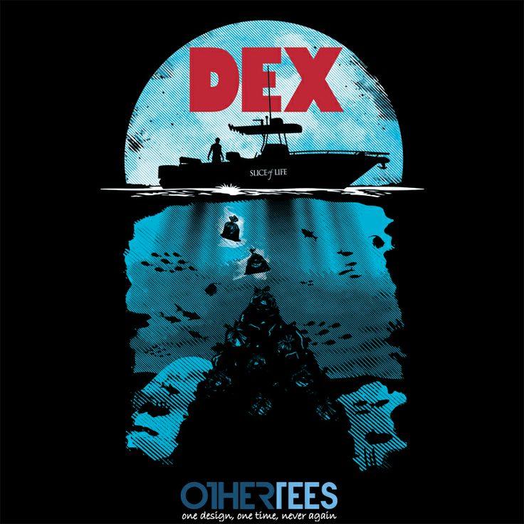 """Dex"" by Olipop  On sale until 20th Feb on www.othertees.com"