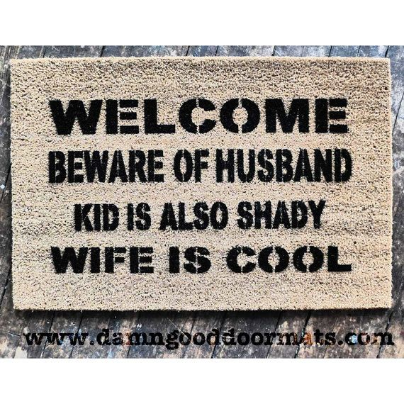 Best 25 funny rude ideas on pinterest rude meme good comebacks for insults and comebacks memes - Witty doormats ...