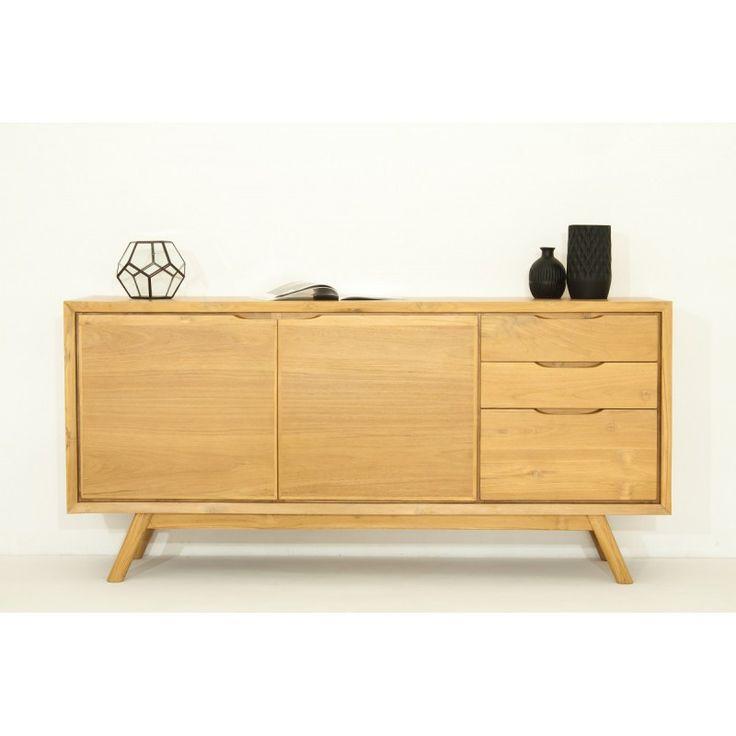 vaisselier design pas cher argentier moderne portes chne. Black Bedroom Furniture Sets. Home Design Ideas