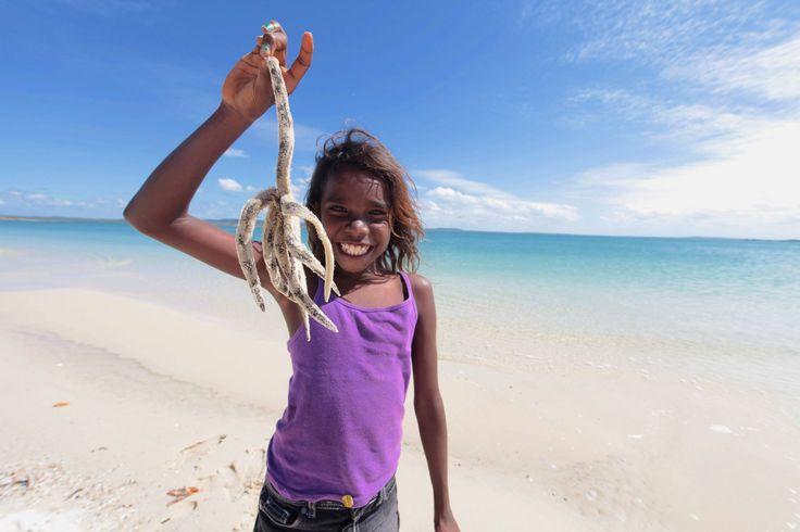 Giant starfish at another stunning beach on the Bawaka Homeland - Lirrwi Tourism  Photo: Adventure Junky