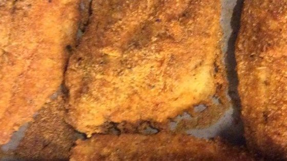 This recipe is a great alternative to pan-fried catfish.  A combination of cornmeal and a variety of spices gives this recipe a savory kick in less than 30 minutes.