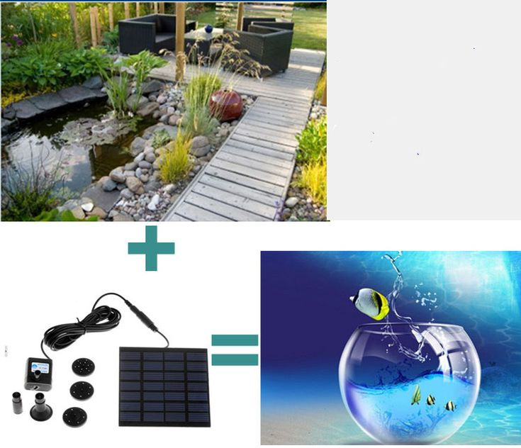 Water Features - *LOCAL STOCK* Brushless Fountain Pond Rockery Solar Water Pump 12 x 8cm Square Panel 7V 150L/H for sale in Johannesburg (ID:198684584)