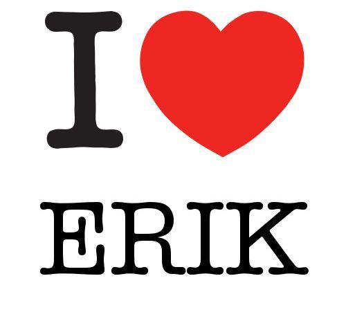 I Heart Erik #love #heart