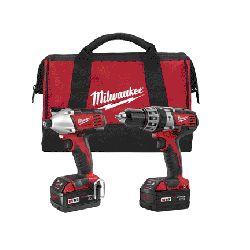 Milwaukee M18 Cordless Hammer Drill w/Impact Driver