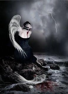 Basta de ser deserto! Sou asa e relâmpago. Eu quero o vôo...Não quero mais ser apenas o seu anjo descartável