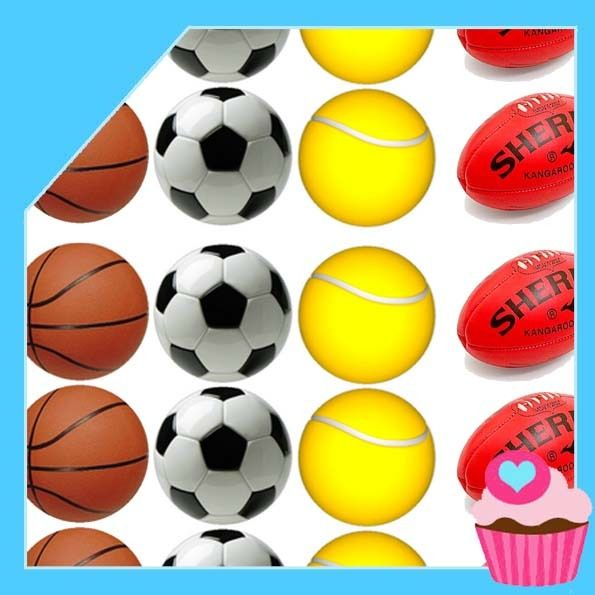 Edible Cake Toppers - Aussie sports balls pack, $4.50 (http://www.ediblecaketoppers.com.au/aussie-sports-balls-pack/)