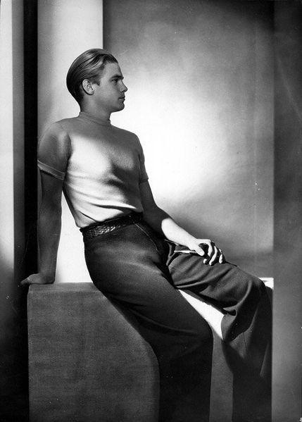 Yva Fashion Photo Modell Jantzen c1932.