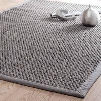 Tappeto intrecciato grigio in sisal 140 x 200 cm BASTIDE | Maisons du Monde