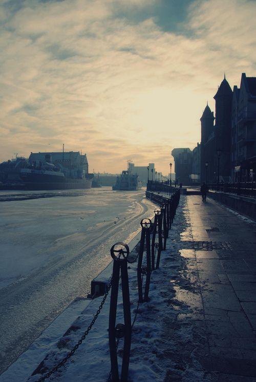Winter in Gdansk, Poland