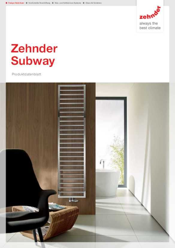 Purismus Für Die Wand: Zehnder Subway Erzeugt Pure Freude Durch Pures  Design. Der Heizkörper