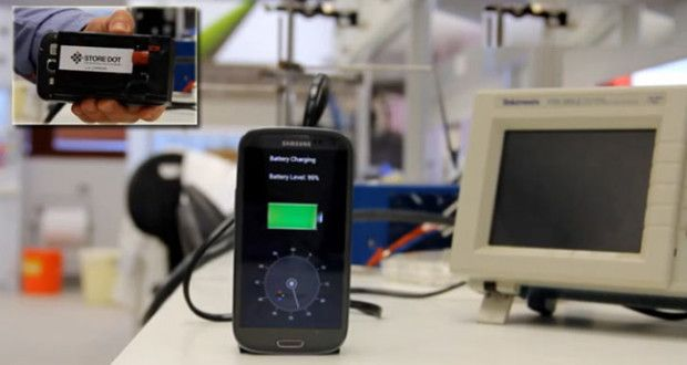 Now, please charge your smartphone in just 30 seconds | timeswings