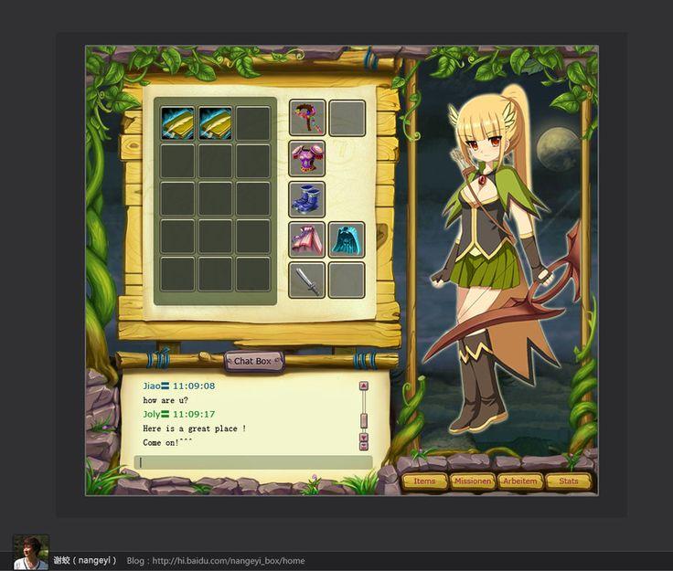 game interface ui by nangeyi on deviantART