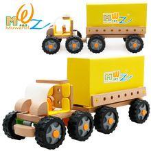 O envio gratuito de modelos em escala de madeira montagem de helicóptero ou moto ou Caminhão ou corridas ect, brinquedos dos miúdos, Kits modelo de Construção(China (Mainland))
