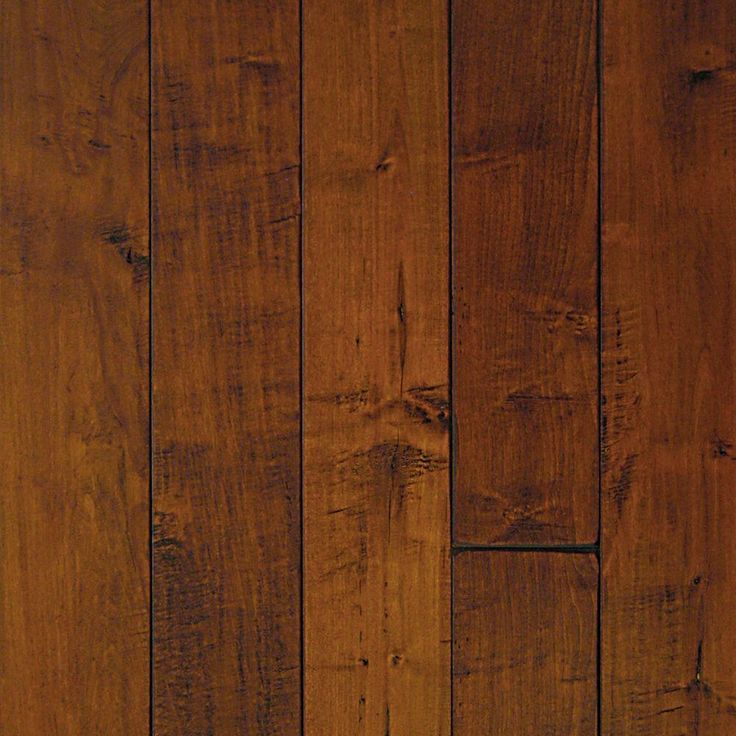 Millstead Hand Scraped Maple Spice 1/2 In. Thick X 5 In. Wide X Random  Length Engineered Hardwood Flooring (31 Sq. Ft. / Case)