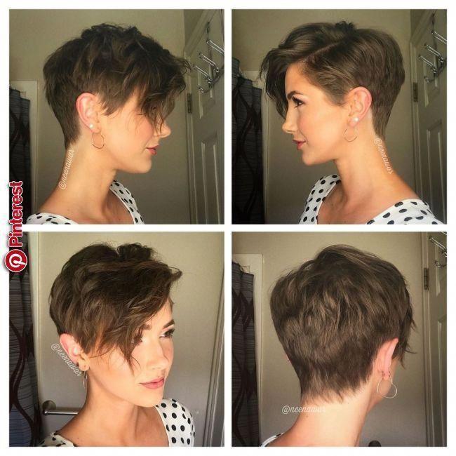 Pin Na Krótkie Włosy