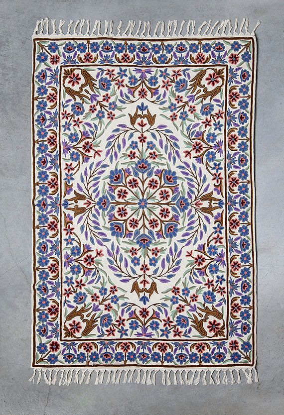 Purple area rug royal blue rug floral area rugs area by Carpetism