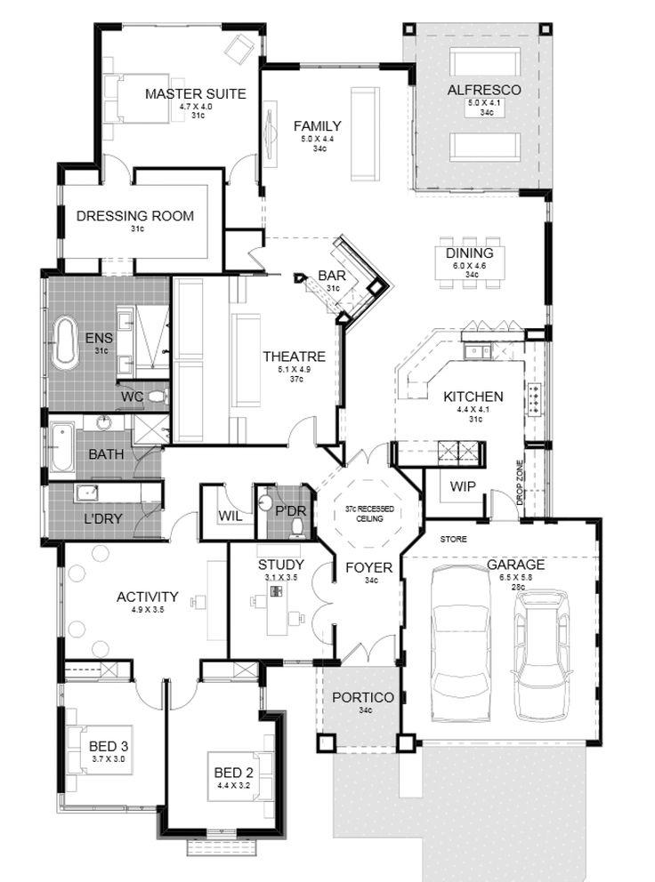 The Hollywood Iii Display Home by Highbury Homes - newhousing.com.au