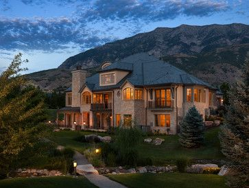 Country Home - 02 - transitional - exterior - salt lake city - THINK architecture Inc.