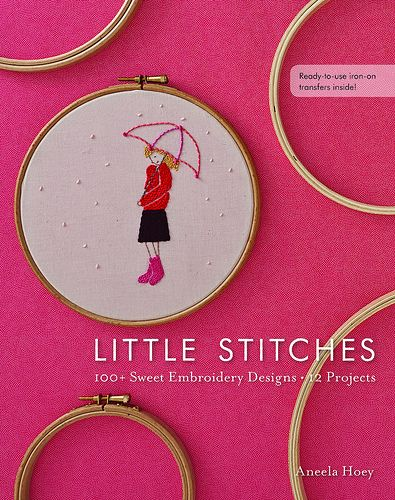 Little Stitches by Aneela HoeyAneela Hoey, Design 12, Book, 12 Projects, Sweets Embroidery, 100, Stitches, Embroidery Designs, Crafts