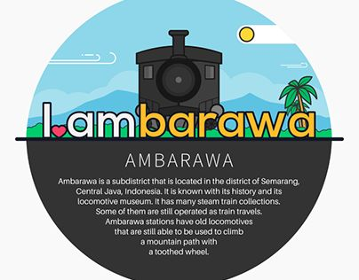 "Check out new work on my @Behance portfolio: ""Ambarawa"" http://be.net/gallery/37579017/Ambarawa"