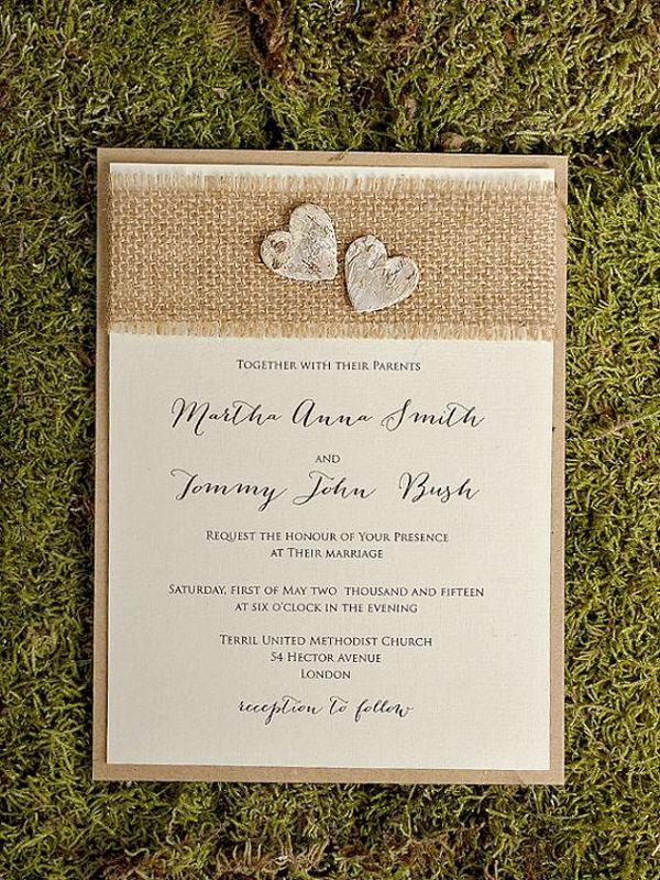 best 25+ homemade wedding invitations ideas on pinterest, Wedding invitations