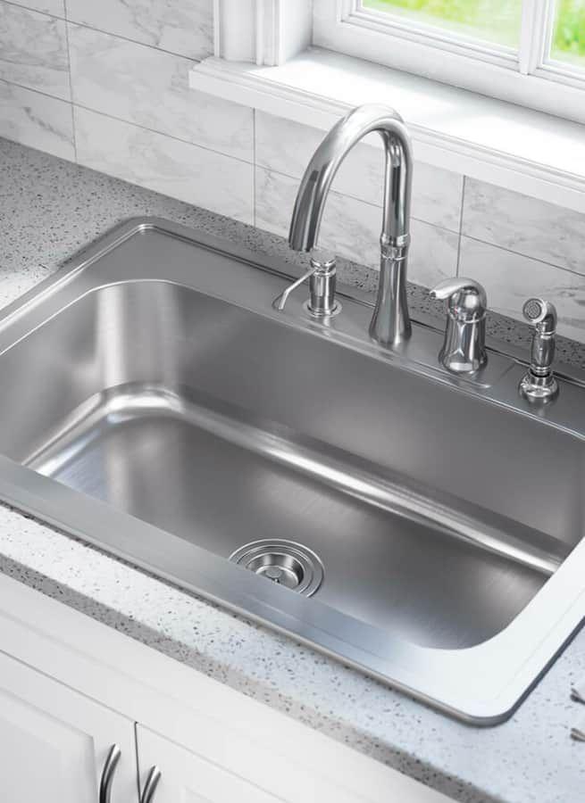 9 Best Kitchen Sink Materials: Pros & Cons in 2020 | Best kitchen