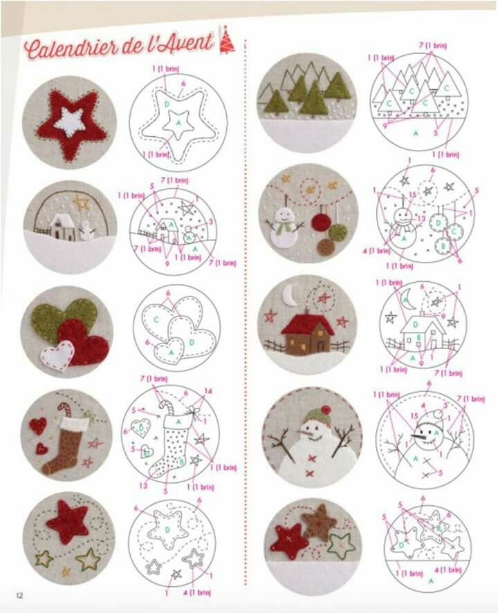 246 best cosas de navidad images on Pinterest Applique templates - cosas de navidad