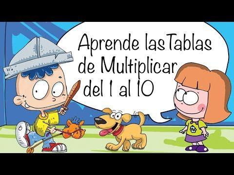 Canciones las Tablas de Multiplicar del 1 al 10 - TABLA DEL CUATRO (4) - YouTube