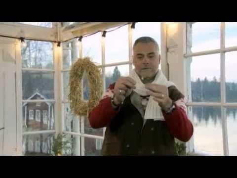 Så gör du en mistel som håller i all oändlighet - Jul med Ernst (TV4) - YouTube