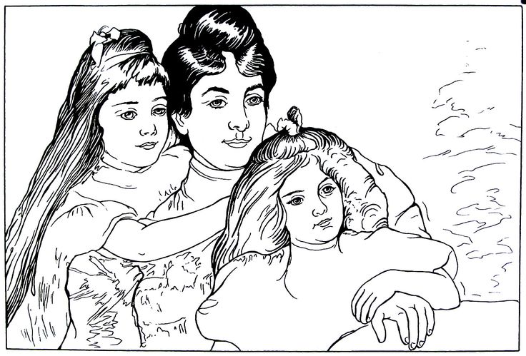 52 best mary cassatt tribute images on pinterest mary for Mary cassatt coloring pages