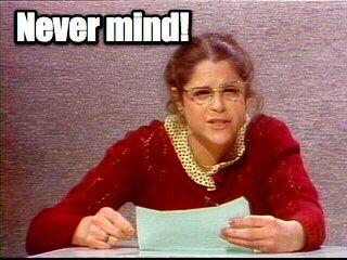 Roseanne Roseannadanna ~ Saturday Night Live in the 70's